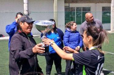 Las Cadetas de la Escuela Municipal de Fútbol Femenino son las mejores del país