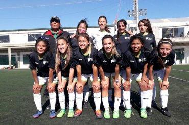 La Escuela Municipal de Fútbol Femenino a la final de los Evita