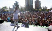 Más de 20 mil personas festejaron el Día del Niño al ritmo de Adriana