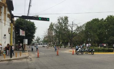Malestar de comerciantes por los sucesivos cortes de calle en el centro de Pilar