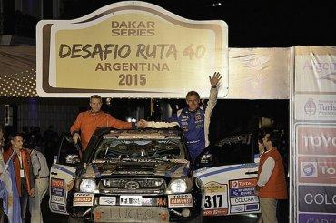Dakar 2018: Naivirt tiene nuevo tripulante