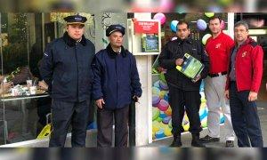 Guardia de Seguridad le salvó la vida a una mujer en un shopping de Pilar