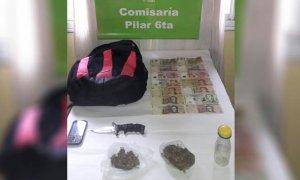 Detienen a un vendedor ambulante por tenencia de drogas