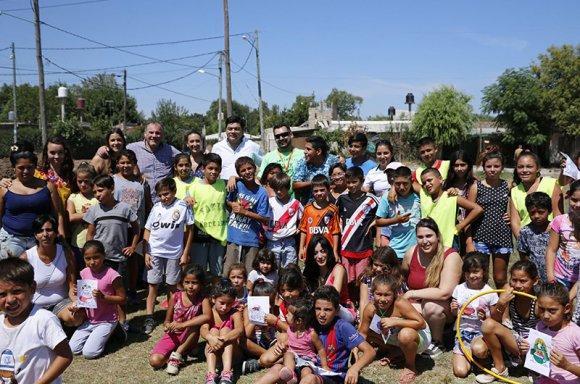 Arrancó el proyecto de deporte social en 18 locaciones del distrito