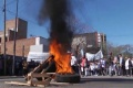 Masiva marcha: Movimientos sociales protestaron por los tarifazos en las puertas de Edenor